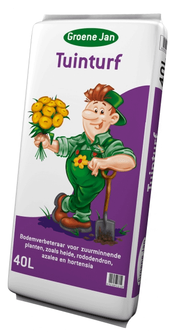tuinturf voor zuurminnende planten