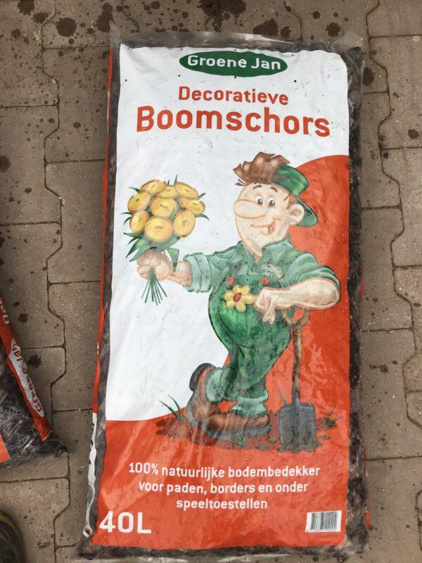 Groene Jan Boomschors, betaalbaar en decoratief